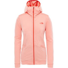 The North Face Hikesteller Hoodie Women Desert Flower Orange